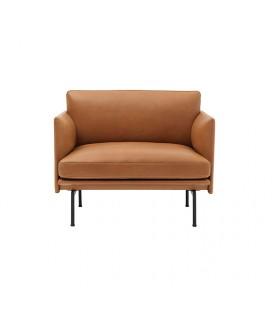 Duke 一人座 皮沙發