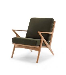 Karl 一人座 原木沙發