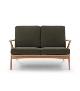Karl 兩人座 原木沙發