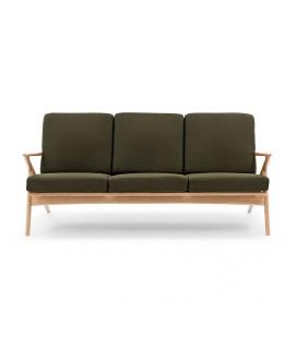 Karl 三人座 原木沙發