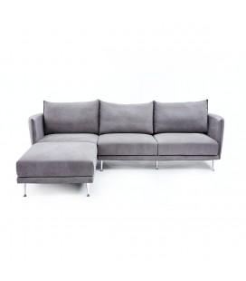 Taylor L型 布沙發