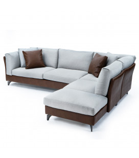 Nick 混搭材質沙發